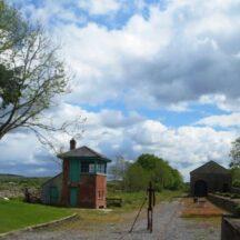 Ballyglunin Railway Station    Photo: B. Forde