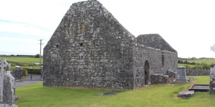 Ruins of old church in Creevaghbawn