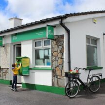 Barnaderg Post Office   Photo: B. Connolly