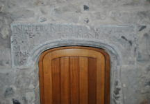 Seventeenth-century doorway in Meelick