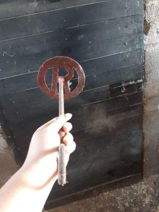 Reid Branding Iron