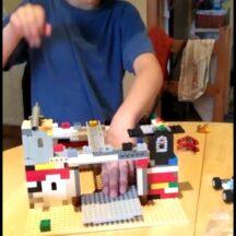 Lego construction of Loughrea Castle | Jack S, Age 7
