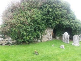 Ivy covered medieval church | B. Doherty August 2020