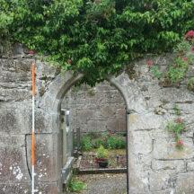 Kiltartan Church doorway   B. Doherty 2021
