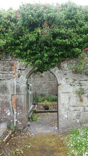 Kiltartan Church doorway | B. Doherty 2021