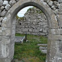 Late medieval arched doorway   Dr. Christy Cunniffe