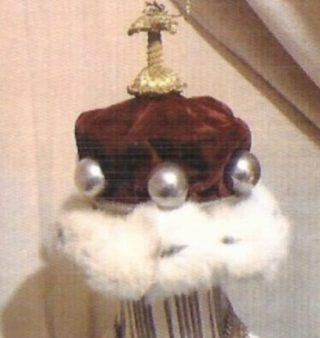 Baronets Coronet crimson velvet with white fur trimmimg | Roderick Ashtown