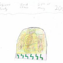 Sketch of Turoe Stone   Grainne Brady