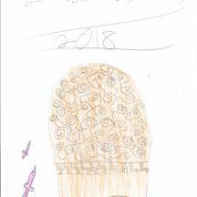 Sketch of Turoe Stone   Hannah McGrath