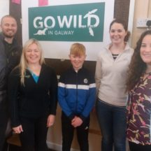 John Lusby and his Go Wild Team in Woodlawn 2018 | B. Doherty 2018