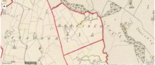 Outline of Beefield Townland | Ordnance Survey Ireland