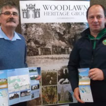 Tom Seal and Aidan Donohue launch Woodlawn Heritage Trail Map | B. Doherty 2019