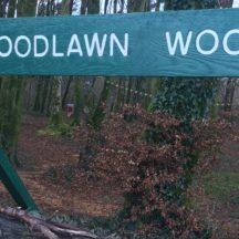 Sign for Woodlawn Woods | M. Kenny