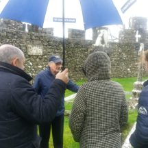 Tom Seale captivates the group with his stories and insight into The Trench Family | B. Doherty 2020