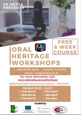 Oral Heritage Workshop Sign