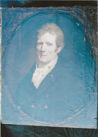 Portrait of Lord AShtown, very faded | Roderick Ashtown