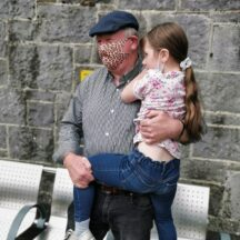 Des Doherty, with grandchild | M. Kenny