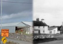 Pictures of Claregalway Then and Now