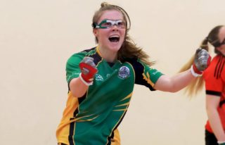 Niamh at play | GAA Handball Ireland, CC-BY-NC-ND