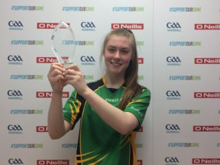 Niamh Heffernan 17&U champion 2018 | Claregalway Handball Club, CC-BY-NC-ND