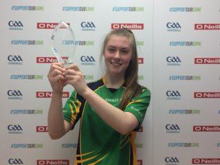 Niamh Heffernan 17&U champion 2018 | Claregalway Handball Club, CC-BY-NC-ND