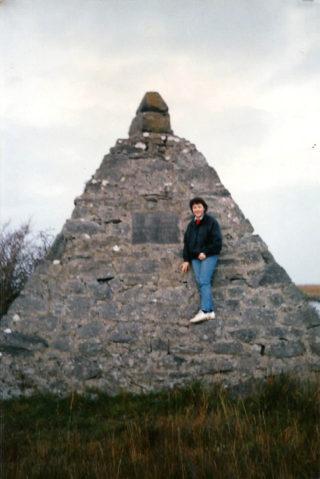 Imelda Cribbin at Annagh 1987 | Imelda Cribbin
