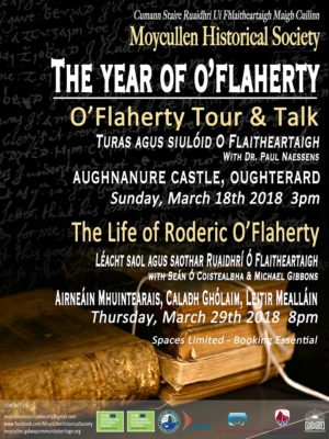 Year of O'Flaherty Festival March 2018 Events