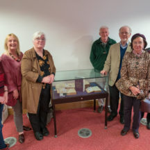 Seminar speakers with members of The Year of O'Flaherty Festival Committee | Seán Ó Mainnín
