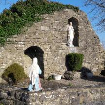 Grotto at tSean Reilig, Homefarm | Moycullen Historical Society