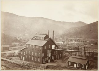 Omega Mill, Virginia City, Nevada. | Photo Courtesy of the California History Room, California State Library, Sacramento, California