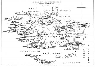 Map of Iar Connaught. Irish Archaeological Society  (Lorg Journal) | Irish Archaeological Society