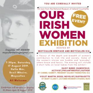 Our Irish Women Launch Invite