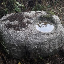 Pic 4.  This is a Bullaun Stone - Where would you find one (or more!) of these in Moycullen?