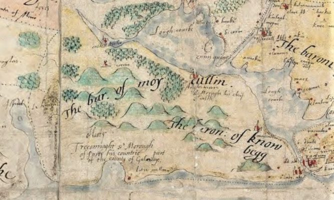 John Brown's Map of the Province of Connaught and Clare | Library of Trinity College Dublin