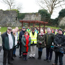 Western correspondent Pat McGrath and RTE visit Moycullen to cover the release of our publication Ruaidhri's Story | Sean Lydon Photographer