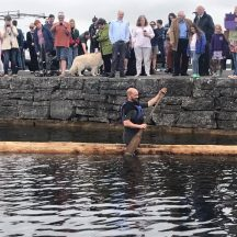 Launch of Lee's Island Logboat | Antoinette Lydon