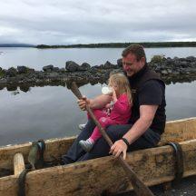 Lee's Island 5 replica Logboat launch | Antoinette Lydon