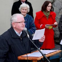 Photo 22 Unveiling of Commemoration Stone 2014
