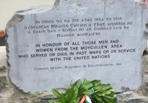 Commemoration Stone Unveiling