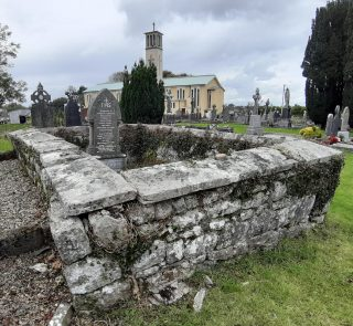 Burial place of Joseph Fitzpatrick of Knockbane in Moycullen Graveyard  | Moycullen Heritage