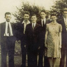 Bohan siblings, John, Larry, Malachy, Tom, Martin and Maura. | Photo: Mary Croke