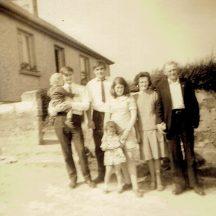 Jackie /Son Kevin, Tommy, Judy, Bina, Johhny and Susan McDonagh-Hudson | Photo courtesy Walter McDonagh