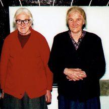 Mrs Deila Sullivan and Mrs Julia Conneely | Photo courtesy John Conneely