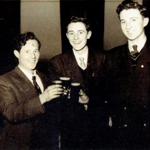 Dan Geraghty, Jimmy and John Conneely (Seapoint 1955) | Photo courtesy John Conneely