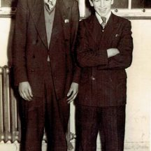 John Conneely and Josie O'Donnell (Spiddal 1954) | Photo courtesy John Conneely