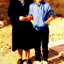 Julia Conneely and grandson Peter (son of John) | Photo courtesy John Conneely