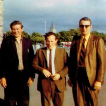 Jimmy Conneely, Danny Geraghry and John Conneely | Photo courtesy John Conneely