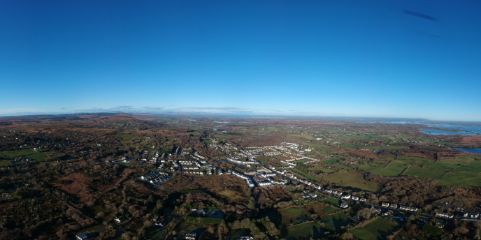 Aerial View of Moycullen