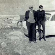 Johnny McDonagh and son Walter | Photo courtesy Walter McDonagh