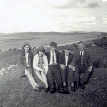 Maisie, Judy, Eddie and Denny McDonagh and Joe Geraghty | Photo courtesy Walter McDonagh